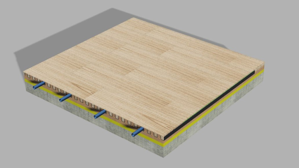 Floor heating v fold the floor can be placed by a professional but you can also do it yourself the system is really flexible and cheaper then the current technology solutioingenieria Images